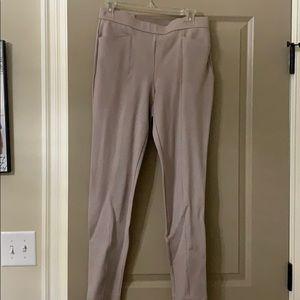 Taupe size 6 straight leg dress pants (never worn)